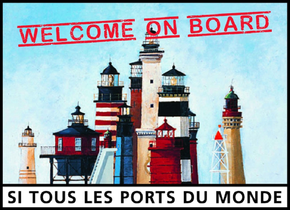 Welcome to our new member Mr BRUNO BOULC'H MASCARET in the port of Saint-Malo
